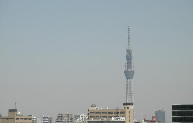 「またまた東京スカイツリー」