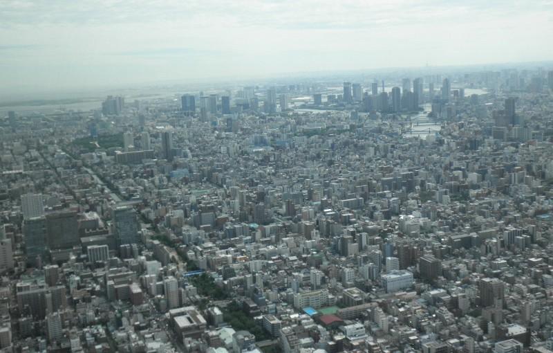 「東京スカイツリーに登る」