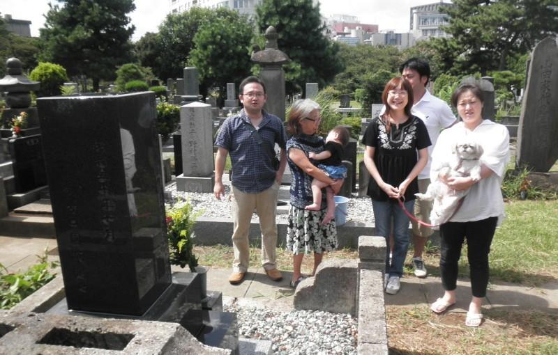 「墓参りと家族会」
