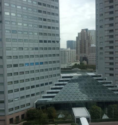 「病室から見える風景」