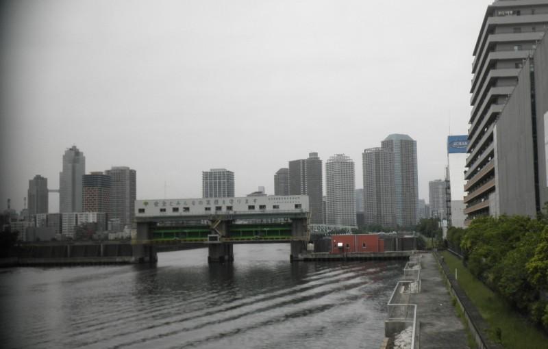 「墨田川水門」