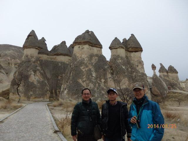 「再びのトルコの旅、後半」「カッパドキア」