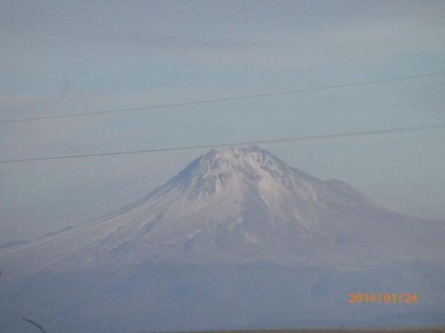 「トルコの思い出、ハッサン山」