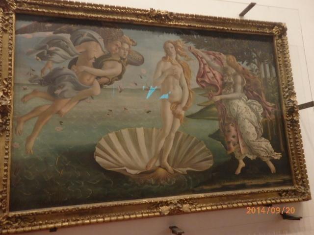 「イタリアの旅、フィレンツェ」