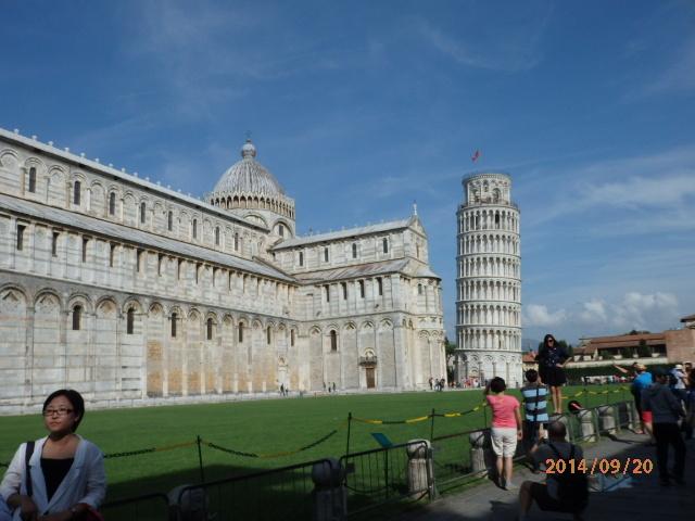 「ピサの斜塔」