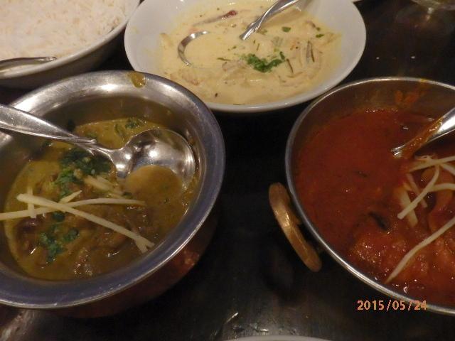 「南インド料理、ダバ インディア」