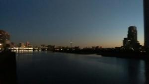夜明けのスカイツリー