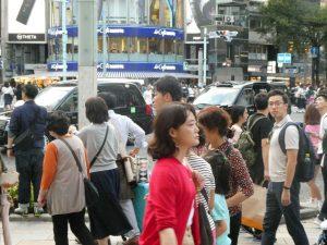 タクシーと中国人